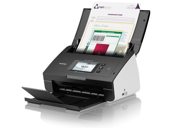 Brother ADS-2600W vyskorychlostní oboustranný skener dokumentů, dotykový LCD, ethernet, WiFi