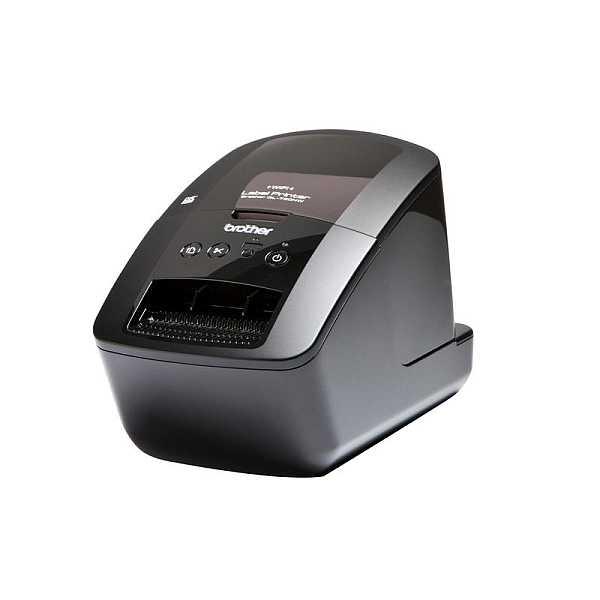 Brother QL-720NW WiFi tiskárna samolepících štítků (+ ethernet připojení)