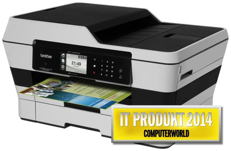 Brother MFC-J6920DW, A3, tiskárna/kopírka/skener/fax, plný duplex, síť, WiFi, NFC, druhý podavač papíru