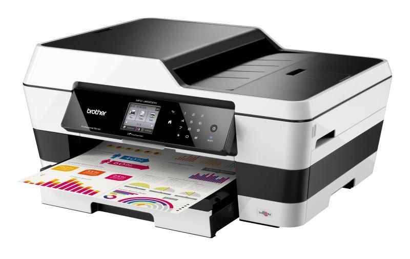 Brother MFC-J6520DW, A3, tiskárna/kopírka/skener/fax, duplexní tisk, síť, WiFi