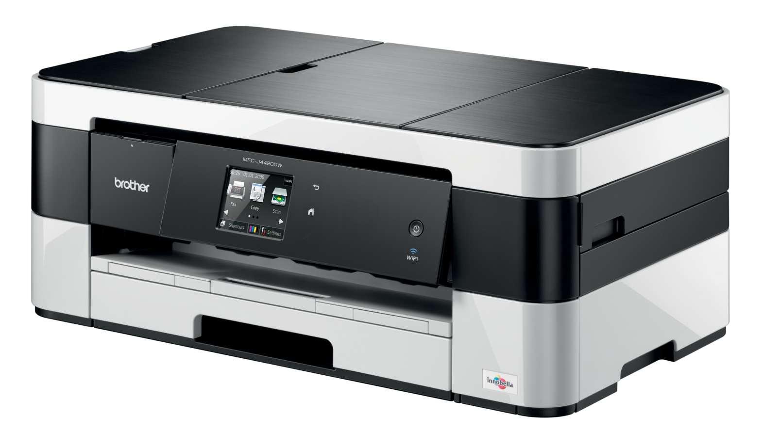 Brother MFC-J4420DW, tiskárna/kopírka/skener/fax, tisk na šířku, duplexní tisk, síť, WiFi, dotykový LCD