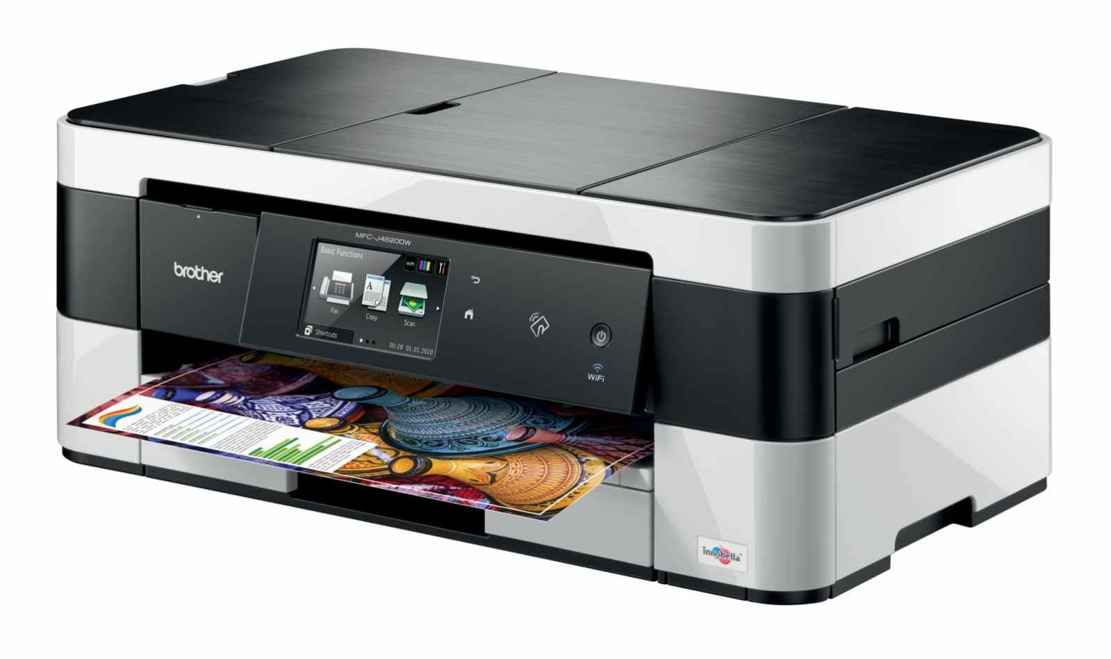 Brother MFC-J4620DW, tiskárna/kopírka/skener/fax, tisk na šířku, duplexní tisk, síť, ethernet, WiFi, NFC, dotykový LCD