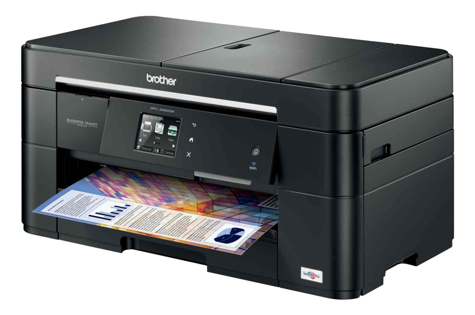 Brother MFC-J5320DW, tiskárna/kopírka/skener/fax, tisk na šířku, duplexní tisk, síť, ethernet, WiFi, dotykový LCD