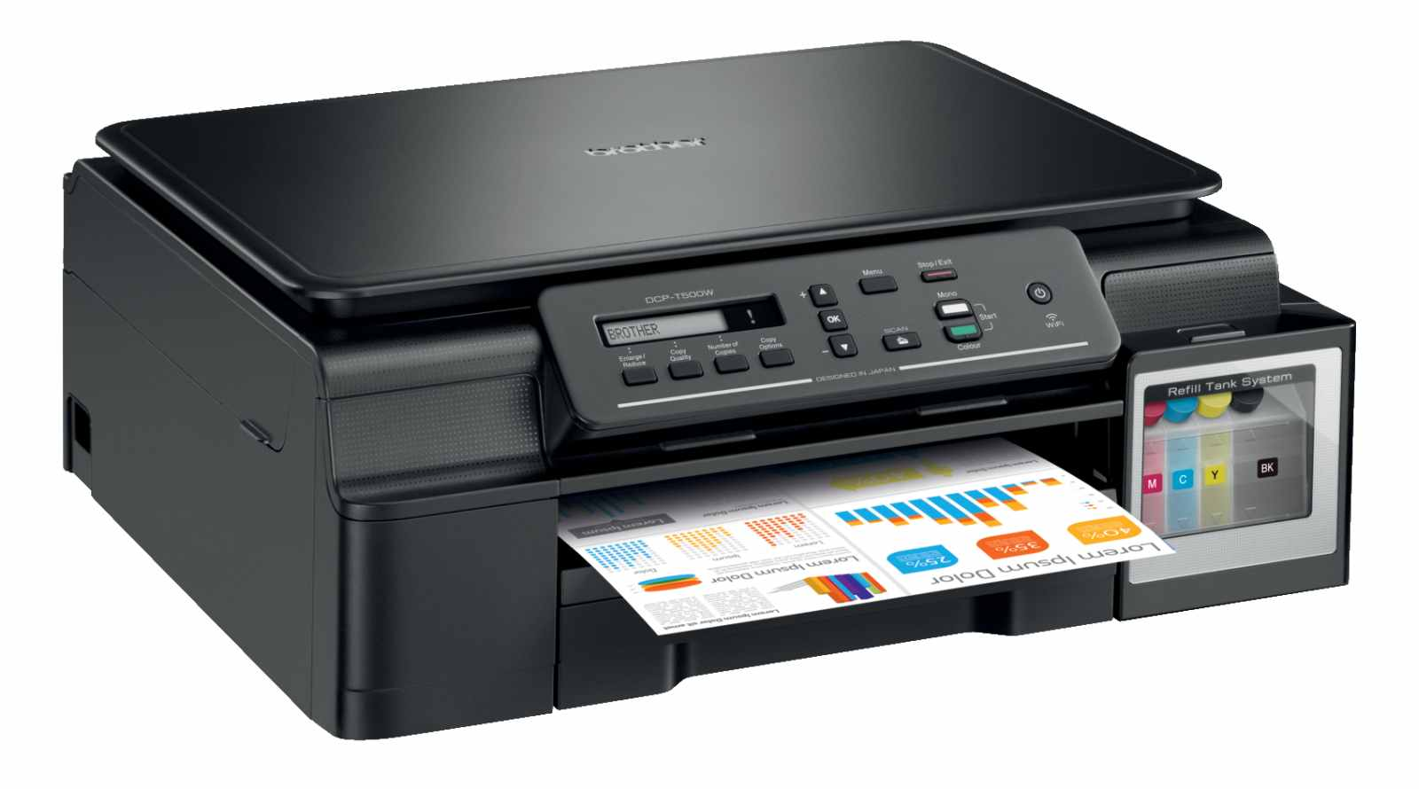 Brother DCP-T500W (tisk./kop./sken.), WiFi, ink benefit plus