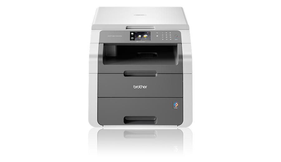 Brother DCP-9015CDW, A4,18 str/18 str.,LED tiskárna,kopírka,skener,WiFi,duplex
